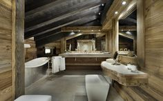 Luxury Ski Chalet, Chalet Edelweiss, Courchevel 1850, France,