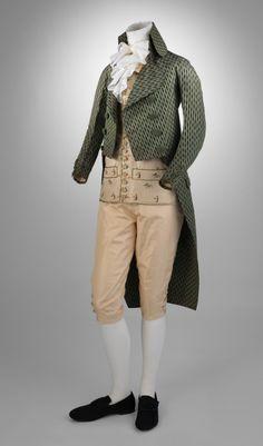 Coat, 1790′s  From the Metropolitan Museum of Art