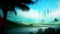 Titans by kvacm on DeviantArt Case Check, Northern Lights, Sci Fi, Deviantart, Wallpaper, Illustration, Artist, Travel, Science Fiction
