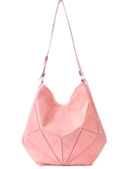 Jem pastel pink slouchy tote