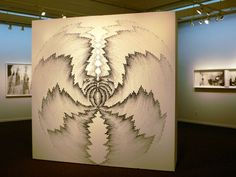 - Judith ann Braun- uses nothing but charcoal dust and fingertips to create art.