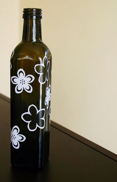decorated bottle   Jon, we can use whatever design made on the Crixket n make them into candle holders