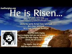 """To me the most beautiful Easter Song ever written. Keith Green """" He is Risen"""""""