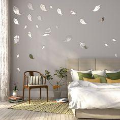 Bytové dekorácie zrkadlá v tvare listov Bedroom, Furniture, Design, Home Decor, Type, Amazing, Decoration Home, Room Decor