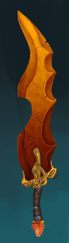 """ArtStation - Sword Concept: """"Orenmir"""", Becca Hallstedt"""