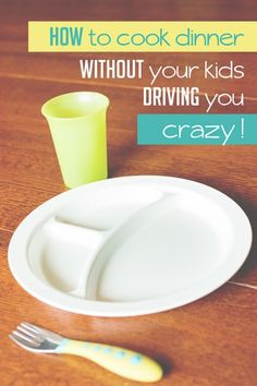 Getting dinner on the table without going crazy -- things to have the kids do.
