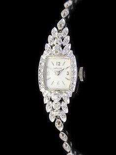 vintage ladies watches for sale Vintage Ladies Hamilton Watches Gold Diamond Watch Repair Diamond Watches For Men, Fancy Watches, Elegant Watches, Stylish Watches, Beautiful Watches, Ladies Watches, Vintage Watches Women, Antique Watches, Vintage Ladies