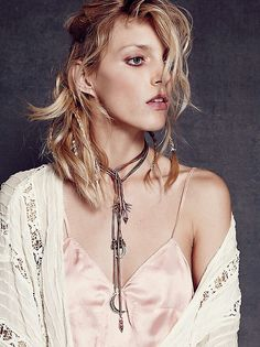 Love this bolo necklace from free people!