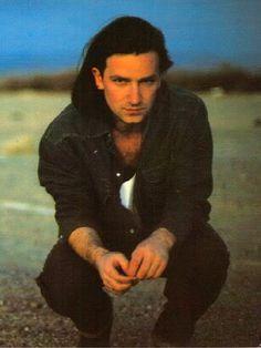 Bono during the Joshua Tree era.  Probably my favorite era... or one of them