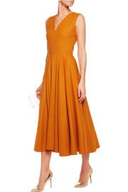 Roksanda burnt orange dress