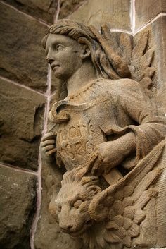 Gargoyles are winged Warriors, our protectors.