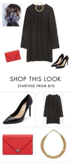 """""""Sans titre #6593"""" by youngx ❤ liked on Polyvore featuring Diane Von Furstenberg, Zara, MANGO and Forever 21"""