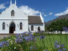 Franschhoek - home of La Clé des Montagnes 4 luxurious villas on a working wine farm