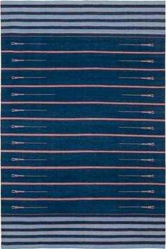Madeline Weinrib Kovidara Classic Indian Dhurrie Carpet
