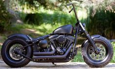 exile cycles | Tough Deluxe Softail By Exile Cycles at Cyril Huze Post – Custom ...