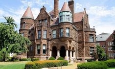 Cool 50 Unique Gothic Revival Home Architecture Victorian Style Homes, Modern Victorian, Gothic Revival Architecture, Interior Architecture, Style At Home, Architecture Blueprints, Gothic Mansion, Gothic Buildings, Best Bathroom Designs
