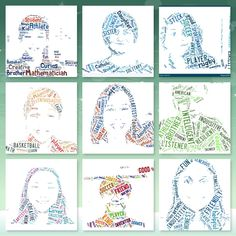 First, let me say I LOVE tagxedo! Classroom Community Building: have students create lists of their own character traits and who they are and then turn them into portraits Art Classroom, School Classroom, Art School, Classroom Ideas, Classroom Activities, School Days, Community Building Activities, Building Classroom Community, Fish In A Tree