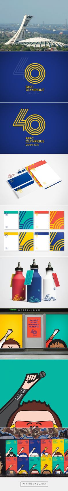 Parc Olympic 40th anniversary | lg2boutique on Behance - created via https://pinthemall.net