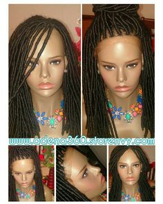 Faux locs wig without baby hair Order: www.adena360.storenvy.com
