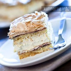 Ciasto mocca – Przepisy kulinarne ze zdjęciami Mocca, Vanilla Cake, Baking Recipes, Delicious Desserts, Food And Drink, Pie, Cooking, Breakfast, Easy