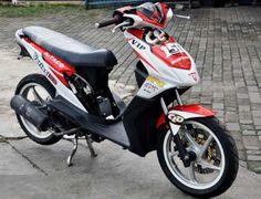 Modifikasi Honda Beat Standar Sporty