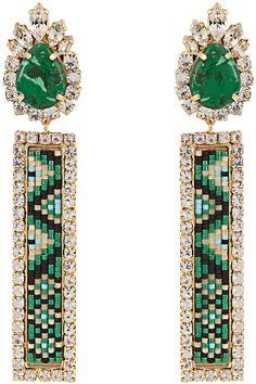 SHOUROUK Bastet clip-on earrings
