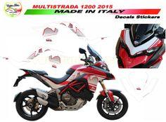 Adesivi per Nuova Ducati Multistrada 1200 Design Dolomites'Peak