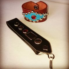 Western Rockabilly cuff and belt loop