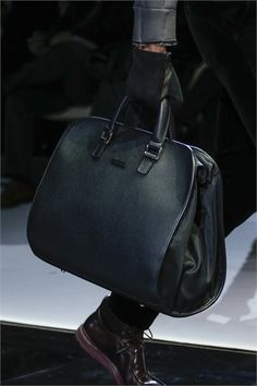 5a19131acebb Bag · Giorgio Armani - Men Fashion Fall Winter 2013-14 - Shows - Vogue.it