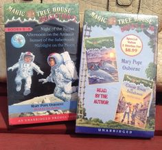 SEALED Magic Tree House Books 5 10 SEALED Cassette Tapes Vintage 1990s | eBay