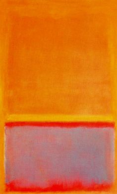 Mark Rothko, Untitled, 1954. Mixed media on canvas. 235,5 x 142,9 cm. The Katharine Ordway Collection. Yale University Art Gallery