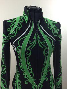 DIY showmanship jacket by Tandy Jo show apparel