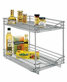 Lynk Metal Roll Out Double Drawer - Kitchen Gadgets - Kitchen - Macy's
