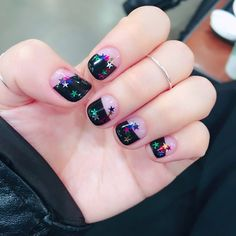 star nail  deep french