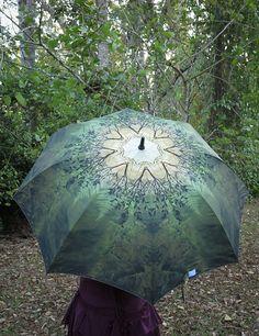 SPRING Crystalotus print Umbrella shade by CrystalotusCreations