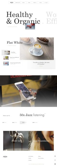 JOVA™ London · Homepage