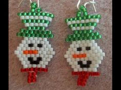 This week, Kelly from Off the Beaded Path, in Forest City, North Carolina brings you a brick stitch earring project, perfect for the holiday season. Kelly al...