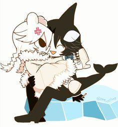 Fanart, Gray Gardens, Chibi Anime, Big Sea, Ice Scream, Rpg Horror Games, Cute Games, Deep Blue Sea, Japanese Artists
