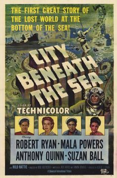 City Beneath the Sea posters for sale online. Buy City Beneath the Sea movie posters from Movie Poster Shop. We're your movie poster source for new releases and vintage movie posters. Classic Sci Fi Movies, Classic Movie Posters, Classic Books, The Sea Movie, Beneath The Sea, Sci Fi Films, The Lost World, Cinema Posters, Art Posters