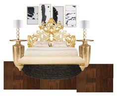 """Sans titre #119"" by piloneugenie on Polyvore featuring interior, interiors, interior design, maison, home decor, interior decorating et Somette"