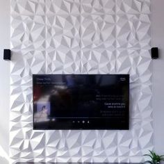 Art3d® Decorative 3D Wall Panels PVC Diamond Design Black | Etsy Modern Wall Paneling, White Paneling, Decorative Wall Panels, 3d Wall Panels, Silver Walls, Function Room, Pvc Wall, Stick On Tiles, Diamond Design