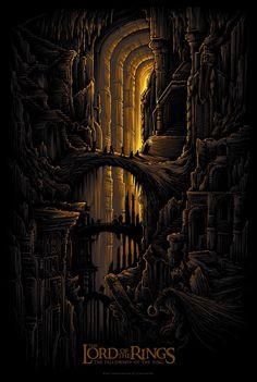LOTR - The Fellowship Of The Ring - Dan Mumford ----