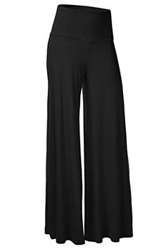 Qualified New Fashion Womens Sexy Casual Pants Plus Size M-5xl Soft Hot Sale Palazzo Wide Leg Pants Fold Over High Waist Women's Clothing