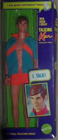Mod Ken 1969 New Good-Lookin' Talking Ken