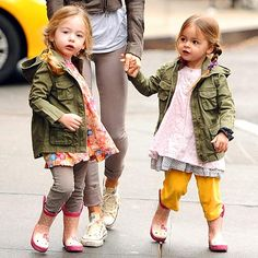 Tabitha and Loretta Broderick-Twin Style! CUTE TO BOOT photo | Sarah Jessica Parker