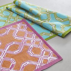 Lilly Pulitzer Home Collection for Garnet Hill- Well-Connected Rug