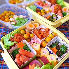 Athletic meet lunch- 運動会お弁当 I& in charge of the side dish! Mogumogu-Sports Day Bento ☆ by Akemi - Japanese Bento Lunch Box, Bento Box Lunch, Japanese Food, Cute Food, I Love Food, Yummy Food, Bento And Co, Bento Recipes, Side Dishes