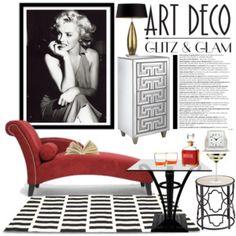 Glitz & Glam: Art Deco with modern twist