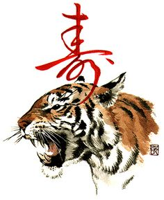Chinese zodiac Tiger
