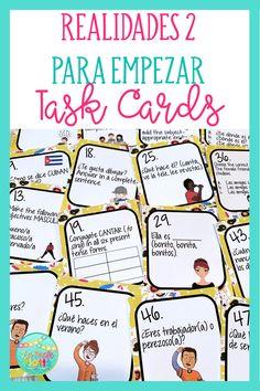 Spanish Classroom Activities, Back To School Activities, Classroom Ideas, Spanish Lesson Plans, Spanish Lessons, Spanish Grammar, Teaching Spanish, Spanish Games, School Levels